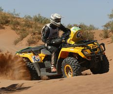 Quad biking in Morocco