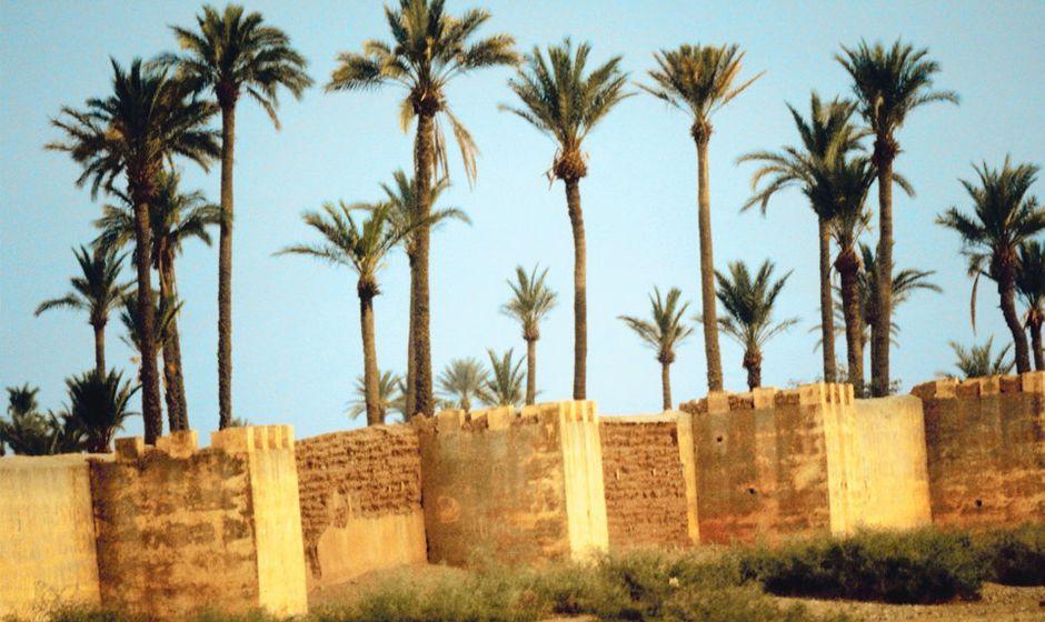 ramparts marrakech morocco