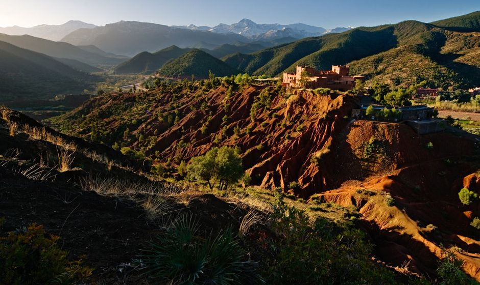 Overview Atlas Mountain Hotels Lawrence Of Morocco