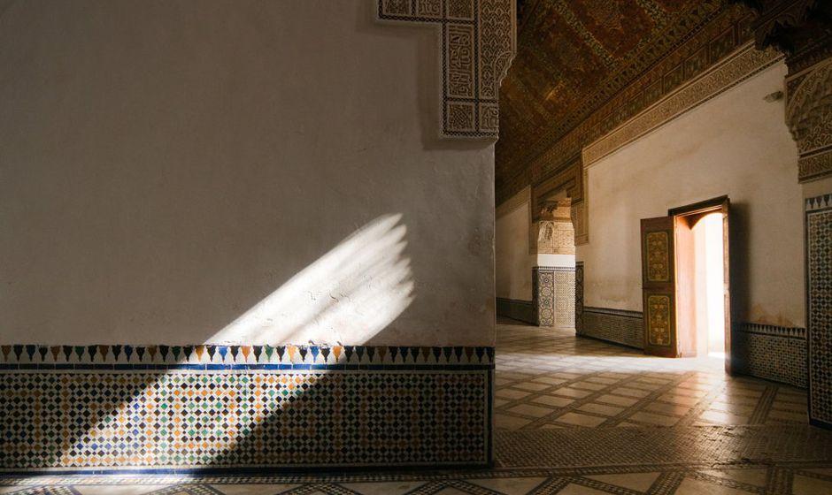 architecture marrakech morocco