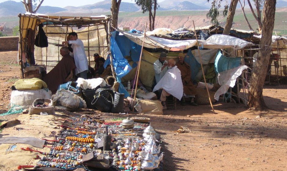 Asni market Atlas mountains Morocco