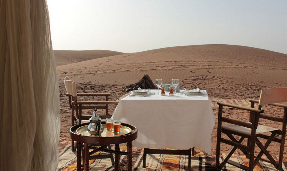 Luxury Desert Camp, Zagora, Morocco