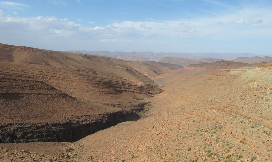 Southern Morocco between Zagora and Ouarzazate
