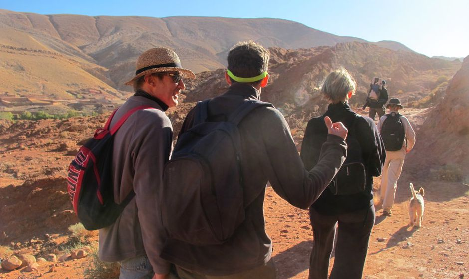 trekking trek atlas mountains high middle low morocco holiday walking