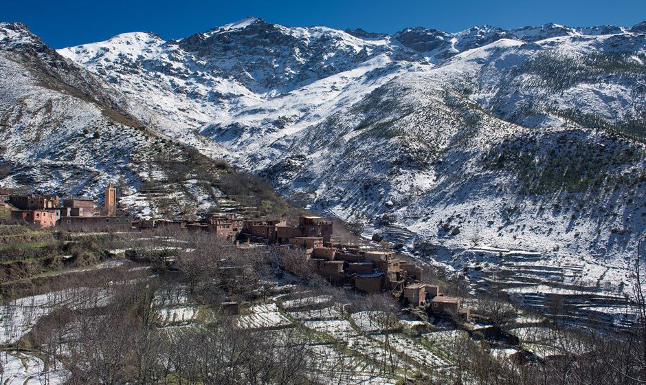 Imlil Lodge, Atlas Mountains, Morocco