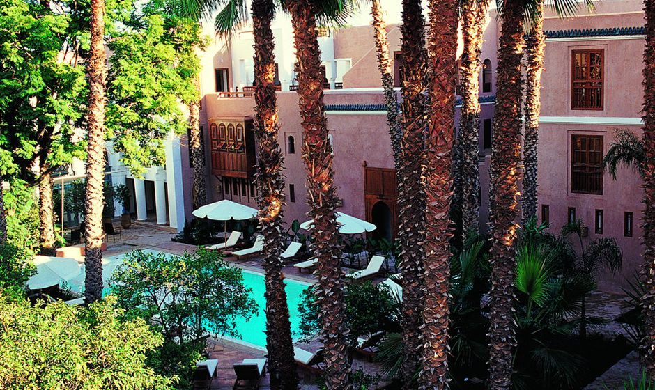 riad hotels marrakech charming travel morocco holiday