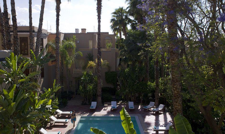 Luxury riads in marrakech for Restaurant jardin marrakech