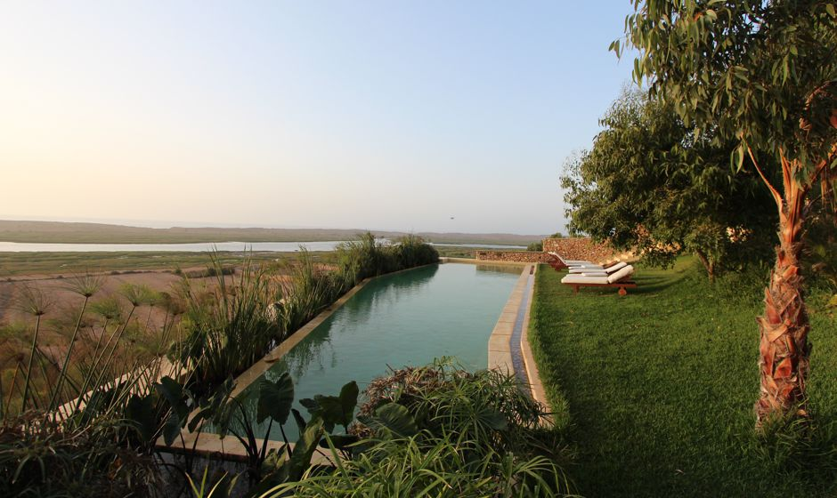 Holidays in Oualidia in Private luxury house Lagoon Lodge hire Morocco