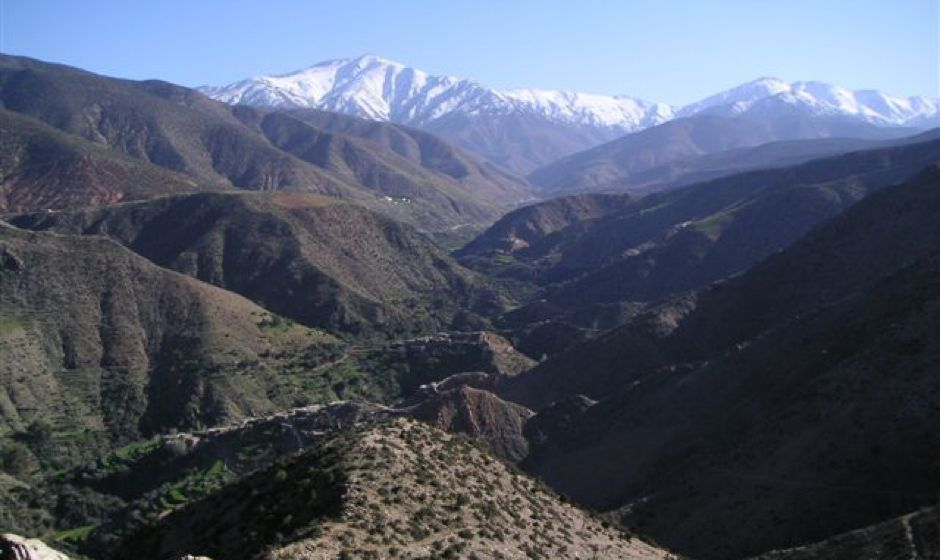 Amizmiz Atlas mountains Marrakech Morocco