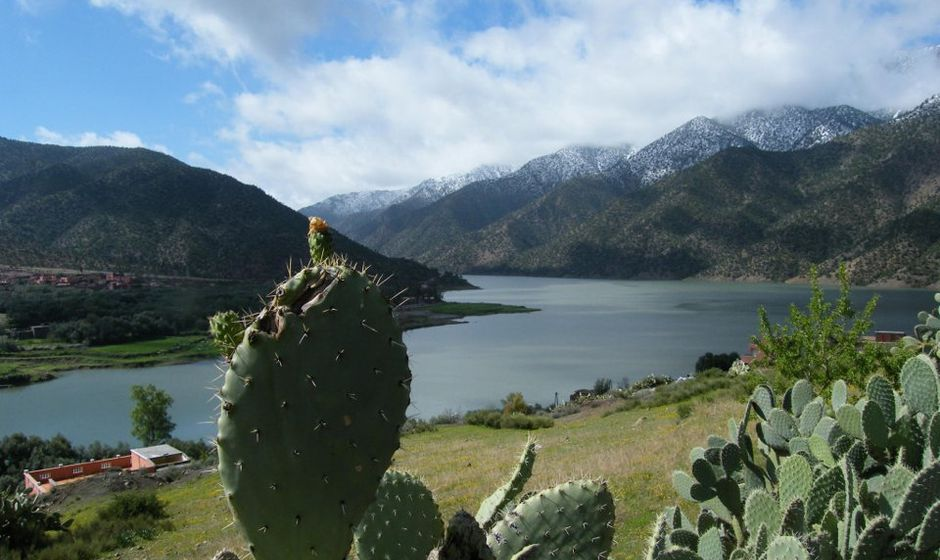 Lake in Ouirgane Morocco
