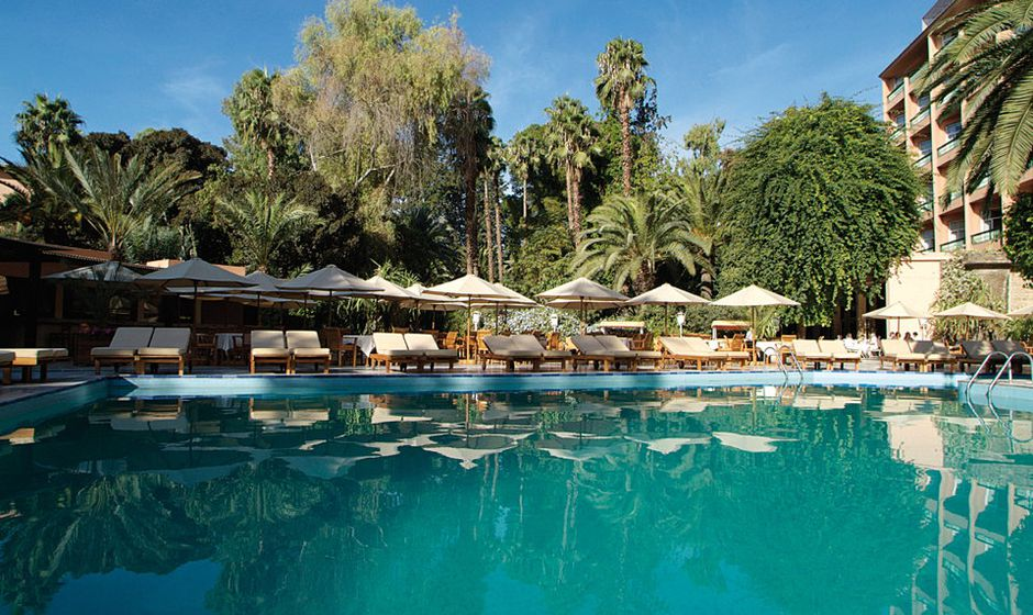 Luxury marrakech holidays and city breaks for Bab hotel marrakech piscine