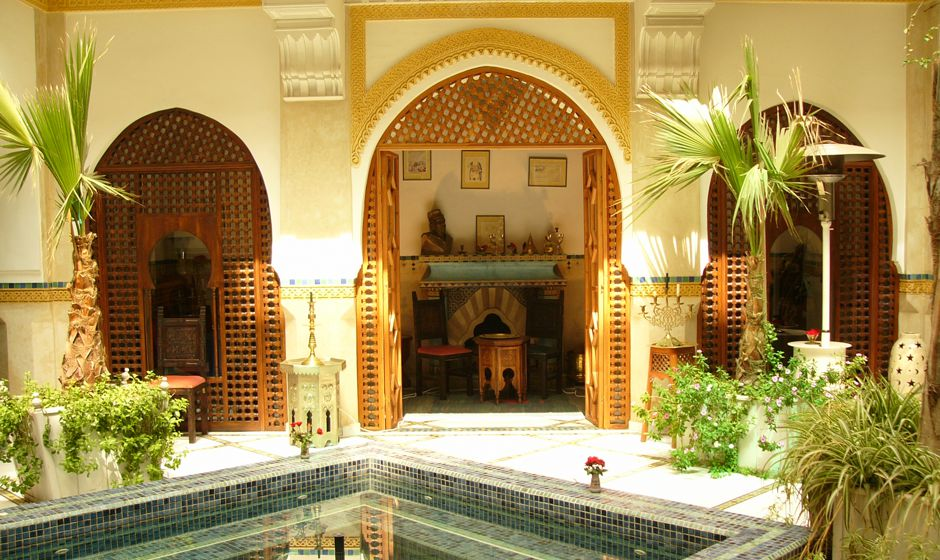 luxury riads in marrakech. Black Bedroom Furniture Sets. Home Design Ideas