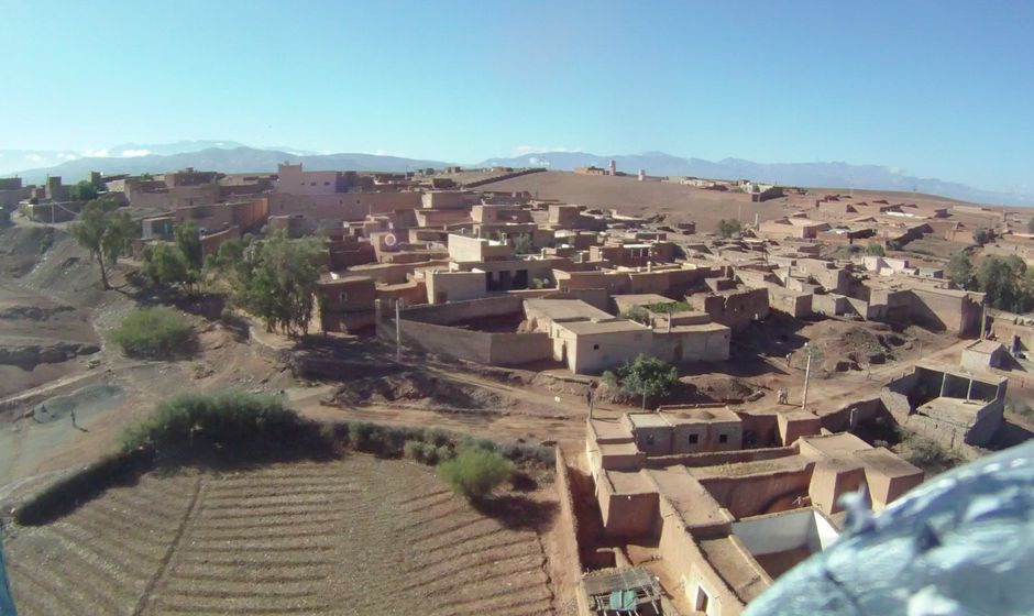 Chez Max Tigmi earth house hotel in Tagadert near Marrakech Morocco