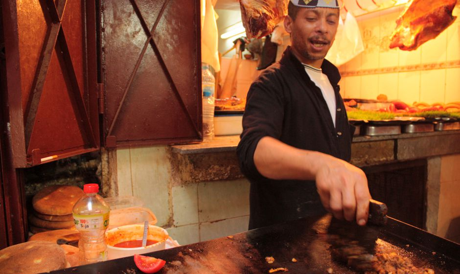 Learn to cook street food in Fes Morocco