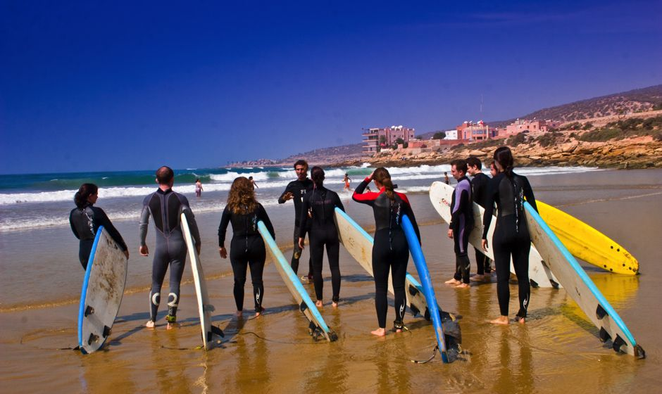 surfing holidays in Morocco