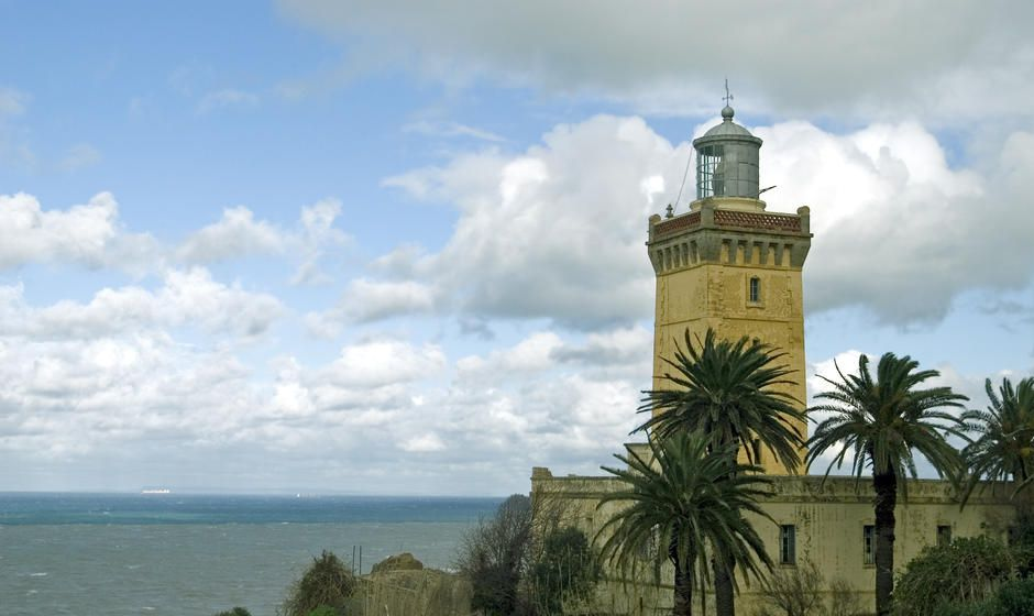 Lighthouse at Tangier