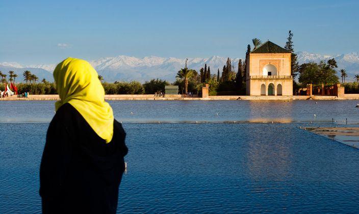 menara gardens marrakech morocco