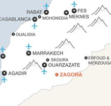ZAGORA map