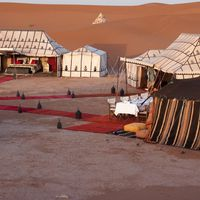 Client review desert camp Sahara Morocco