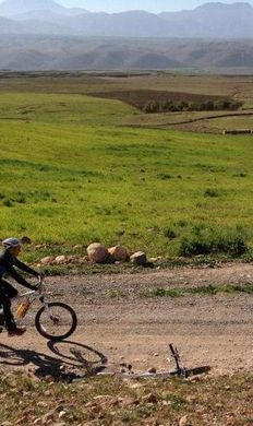 10-night Cycling tour Marrakech & Atlas mountains
