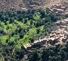 Toubkal foothills Morocco trekking holidays