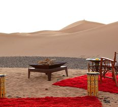Homme Bleue Sahara Desert Camp Holiday at Chigaga