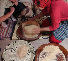 cooking course with local Moroccan family