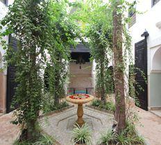 Riad Courtyard, Dar Jaguar, Marrakech, Morocco
