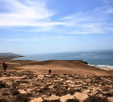 Coastal hike to Berber village