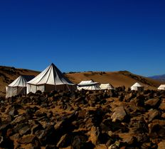 Luxury Desert Camp near Tazzarine in Morocco