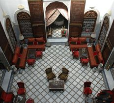 Maison Bleue riad hotel in Fes Morocco