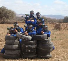 Paintball on holiday
