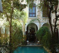 riad maison bleue fes morocco