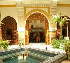 Riad Moucharabieh Luxury Riad hotel Marrakech Morocco