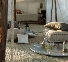 Scarabeo luxury desert camp Agafay Marrakech Morocco