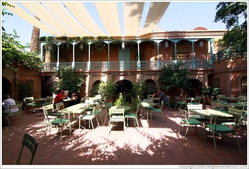 Marrakech restaurants for Cafe le jardin marrakech